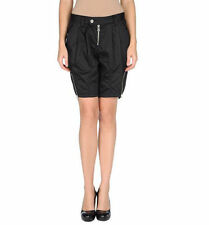 $179 Authentic Rare MISS SIXTY Women's Black Pleated Knee Lenght Shorts