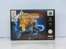 CASTLEVANIA NINTENDO 64 Brand New In Box,100% Pal Game ( AUS )UNUSDED