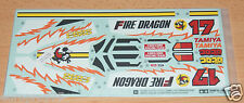 Tamiya 58403 Fire Dragon (Re-Release), 9495532/19495532 Decals/Stickers, NIP