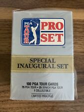 1990 Pro Set PGA Tour Special Inaugural Set Limited Printing 100 Cards Golf