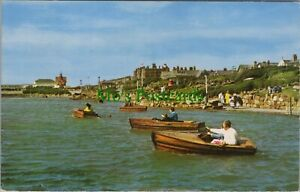 Lancashire Postcard - The Boating Lake, Lytham St Annes   RS22810