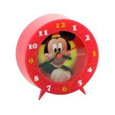 MICKEY MICKEYMOUSE CLUB HOUSE réveil rouge plastique 8x8 cm pour enfant