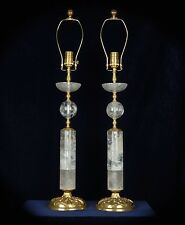 Modern Rock Crystal Quartz Lamps