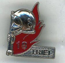 Sapeur Pompier Pin's 18 TRIEL