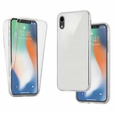 iPhone XR Front and Back Full Body 360 Fitted Protective Case Gel Cover