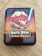 Angry Birds Star Wars Playing cards in collectable tin Excellent Condition!!