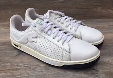 Puma Palermo Cat Fashion Sneakers Men's 12 White Perforated Athletic Court Shoes