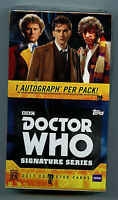 Doctor Who Signature Series Topps 2017 Trading card Card Box  Amricons