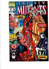New Mutants #98 - 1st Print - 1st appearance Deadpool -Liefeld -1991- Very Fine+