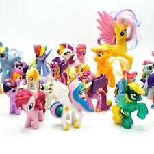 My Little Pony Figures Lot Of 34 PVC Mini Hasbro Horses Unicorns