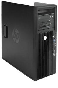 HP Z420 V2 WORKSTATION, 8C/16T E5-2650V2 CPU, 32GB RAM, 240GB SSD+1TB HDD