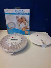 Pill Aide Automatic Pill Dispenser -Pill Organizer - OPEN BOX MISSING KEY
