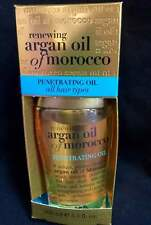 ORGANIX RENEWING ARGAN OIL OF MOROCCO PENETRATING OIL ALL HAIR TYPES 3.3 fl oz.