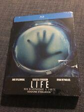 Blu-ray Life - Non Oltrepassare il Limite (steelbook) 2017  ITA.