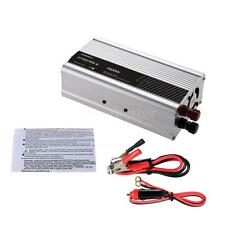 1500W Solar Power Inverter DC 12V to AC 220V Charger Converter Low Noise BB C0T6