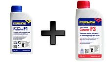 Fernox F1 and F3 Central Heating Cleaner and Protector Liquid 500ML Each