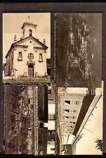 BRAZIL OURO PRETO MG VINTAGE CA1930  5 REAL PHOTO POSTCARD CARTAO POSTAL