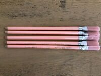 Vintage EraserStik FaberCastell 7066B Lot Of 5 Pearly Pink