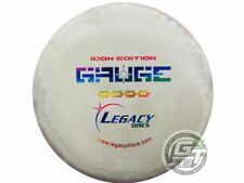 New Legacy Discs Icon Gauge 180g Lt Gray Rainbow Foil Midrange Golf Disc