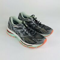Asics Gel Nimbus 19 Womens Size 6 Gray Coral Running Athletic Shoes T750N