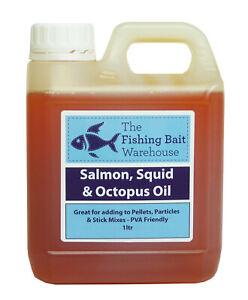 Fish Oils / Liquids 1ltr - Fishing Bait, Carp, Bait Dip, PVA Friendly, 1 Litre