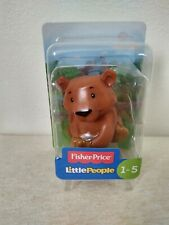 Fisher Price Little People Zoo Brown Bear New Free Shipping Adorable!