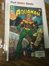 1991 Dc Comics Aquaman First Issue 1 Return Of The King 50Th Anniversary Year!