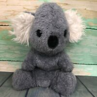 "Vintage Koala Bear Animal Fair 10"" Plush Toy Stuffed Animal 1970s 80s Gray Grey"