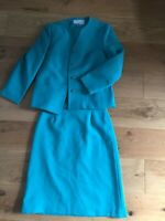 eastex size 14-16 blue jacket and skirt outfit