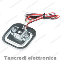 Cella di carico 50kg bilancia sensore peso weighing sensor (arduino-compatibile)