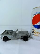 Tootsie Toy Metal Military Jeep - Has some age