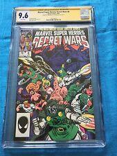Marvel Super Heroes Secret Wars #6 - Marvel - CGC SS 9.6 -Signed by Zeck, Beatty