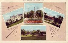 VIEWS OF ST. FRANCIS ASSISI CONVENT. MILWAUKEE, WI 1929