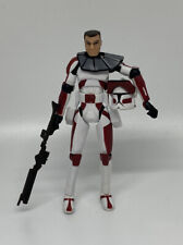 "Star Wars The Clone Wars Clone Trooper Commander Thire 3.75"" Action Figure"