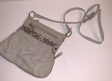 Thirty One Pop Crossbody Purse Bag Little Blossom Brown Floral Expandable