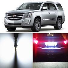 Alla Lighting License Plate Light 2825L LED Bulbs for Cadillac Escalade ESV EXT