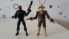 Star Wars Figur Darth Maul & Ree Yees Sith Bounty Hunter Hasbro Legacy RAR