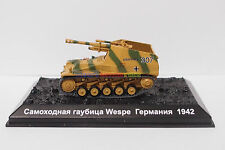 New 1/72 Diecast Tank German Sd. Kfz. 124 Wespe 1942 WWII Model Toy Soldiers