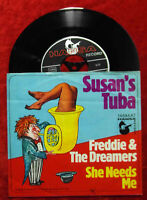 Single Freddie & The Dreamers: Susan´s Tuba (Hansa 14 644 AT) D