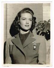 Dorothy Malone Big Sleep Hottie Aa Winner Original Vintage Movie Portrait c.1944