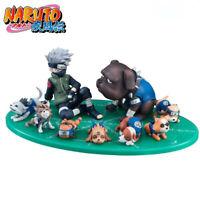 Anime Naruto Hatake Kakashi Pakun Dogs Summoning Jutsur PVC Action Figure Toy