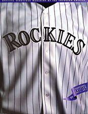 1993 (Apr.8-10)  Baseball Program, Montreal Expos @ Colorado Rockies ~unscored