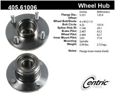 Wheel Bearing and Hub Assembly-Premium Hubs Rear Centric fits 01-07 Ford Focus