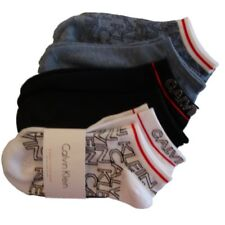 Calvin Klein Womens No Show Sports Trainer Socks 6 Pair Pack Size UK 4 - 7