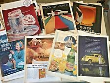 180 Vintage 1937 63 65 66 LIFE Magazine Advertisements Autos Beverages Cigs More