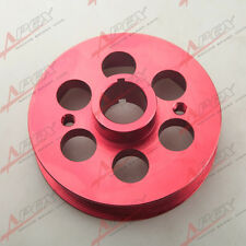 Racing Light-weight Crank Pulley Kit For Toyota Mrs/Celica 1.8WTI Aluminum Red