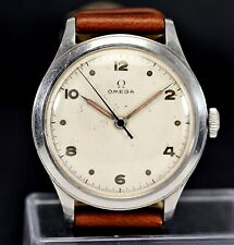 OMEGA Ref.2179, Cal.30T2, steel 35mm screw case, radium dial, 1946 vintage watch