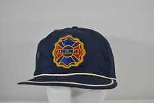 I.O.F Blue  Baseball Cap Snap Back