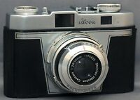 Iloca Rapid-B Germany 35mm Vintage Film Camera Cassarit f2.8 50mm Lens CLEAN!