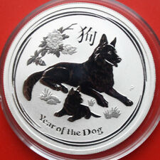 Australien: 50 Cents 2018 Silber 1/2 Oz Year of the Dog, #F 2561